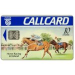 The Phonecard Shop: Ireland, Horse Racing in Ireland, with batch number, chip SC-5, 10 units