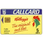 The Phonecard Shop: Kellogg's, 5 units