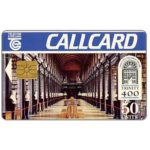 The Phonecard Shop: Trinity College 400, Marlborough, chip GEM1, 50 units