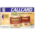 The Phonecard Shop: Bondex, 10 units
