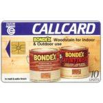 The Phonecard Shop: Ireland, Bondex, 10 units
