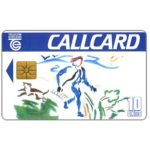 The Phonecard Shop: Design a Callcard 1993, 10 units
