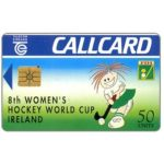 The Phonecard Shop: Women's Hockey World Cup, 50 units