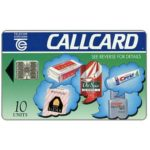 The Phonecard Shop: Ireland, Proctor & Gamble, 10 units