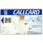 The Phonecard Shop: Aoife and the Children of Lir, with Moreno logo, chip SC-7, 20 units