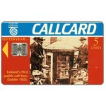 The Phonecard Shop: Ireland, First public calling box 1925, 5 units