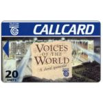 The Phonecard Shop: Ireland, Voices of the World, 20 units