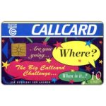 The Phonecard Shop: Ireland, The Big Callcard Challenge, 10 units