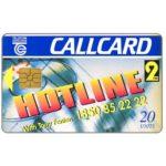 The Phonecard Shop: Ireland, 2FM Hotline, 20 units