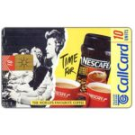 The Phonecard Shop: Nescafè, 10 units