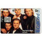 The Phonecard Shop: Ireland, Boyzone magazine, 10 units