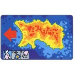 The Phonecard Shop: Jersey, Heat Map of Jersey, 40 units