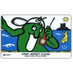 The Phonecard Shop: Jersey, Keep Jersey Clean - On Phone, 40 units