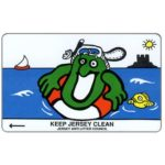 The Phonecard Shop: Jersey, Keep Jersey Clean - Swimming, 40 units