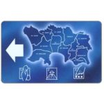 The Phonecard Shop: Jersey, Map of Jersey, Parishes, 40 units