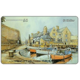 The Phonecard Shop: Jersey Coasts, St.Helier, £2