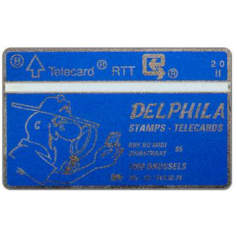 Phonecard for sale: Delphila Stamps - Telecards, 2 units