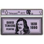 The Phonecard Shop: Belgium, David Teniers 1610-1690, 2 units