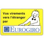 The Phonecard Shop: Luxembourg, Eurogiro, 50 units