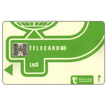 The Phonecard Shop: Definitive, light green shade, code C3B+6 stamped digits, 60 units