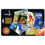 The Phonecard Shop: Malta, Telecard Collectors Club, 40 units