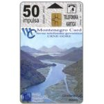 The Phonecard Shop: Skadar Lake / Boka Kotorska, 50 units