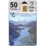 The Phonecard Shop: Montenegro, Skadar Lake / Boka Kotorska, 50 units