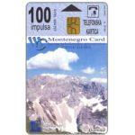 The Phonecard Shop: Montenegro, Durmitor Mountain / Tara River, 100 units
