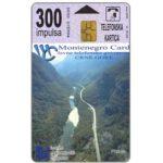 The Phonecard Shop: Montenegro, Platije / Black Lake, 300 units