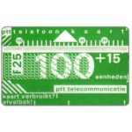 The Phonecard Shop: Netherlands, Definitive, 4th series, 810C, 100+15 units