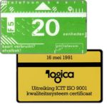 The Phonecard Shop: Netherlands, Logica, 20 units