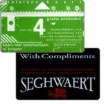 The Phonecard Shop: Netherlands, Seghwaert, black, 4 units