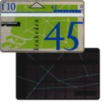 The Phonecard Shop: Netherlands, Definitive, 7th series, printed back, 45 units