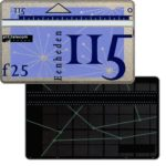 The Phonecard Shop: Definitive, 8th series, dotted back, 115 units