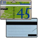 The Phonecard Shop: Netherlands, Definitive, 9th series, white back, 45 units