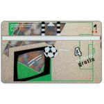 The Phonecard Shop: Netherlands, PTT Telecom Football Cup, complimentary 4 units