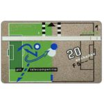 The Phonecard Shop: PTT Telecom Football Cup, 20 units