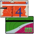 The Phonecard Shop: NTC, 4 units