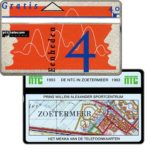 The Phonecard Shop: NTC in Zoetermeer 1993, 4 units