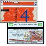 The Phonecard Shop: Netherlands, NTC in Zoetermeer 1993, 4 units