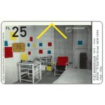 The Phonecard Shop: Mondriaan's Atelier, Amsterdam, FL 10