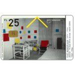 The Phonecard Shop: Netherlands, Mondriaan's Atelier, Amsterdam, FL 10