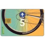 The Phonecard Shop: Bicycle wheel, FL 5