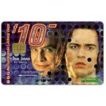 The Phonecard Shop: Moviestars, Don Juan de Marco, Marlon Brando and Johnny Depp, FL 10