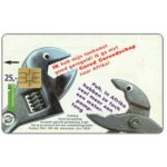 The Phonecard Shop: Human needs, tools, Gered Gereedschap, FL 25