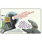 The Phonecard Shop: Netherlands, Human needs, tools, Gered Gereedschap, FL 25