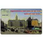 The Phonecard Shop: Netherlands, Historical buildings, Gouden Eeuw, Dam Palace in Amsterdam, FL 25
