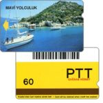 The Phonecard Shop: Mavi Yolculuk, barcode, 60 units