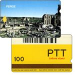 The Phonecard Shop: Perge, barcode, 100 units