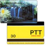 Phonecard for sale: Kursunlu selalesi, 9 mm band, 30 units
